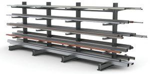Scaffalature Metalliche Industriali Prezzi.Scaffalature Cantilever Scaffali Industriali Cantilever Usati