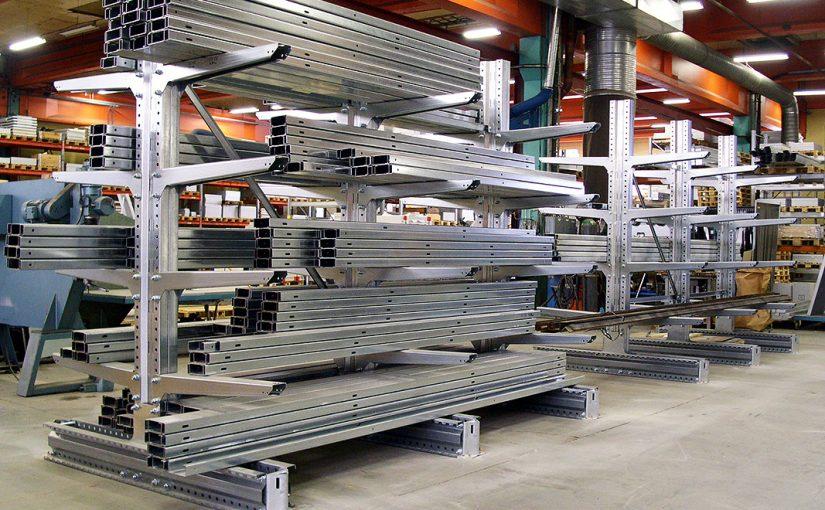 Scaffalature cantilever scaffali industriali cantilever usati